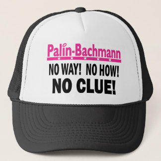 Palin - Bachmann糸口無し キャップ