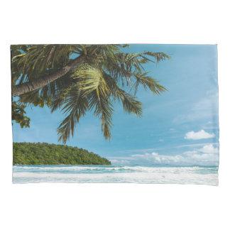 Palm Beach熱帯(1つの側面)の枕カバー 枕カバー