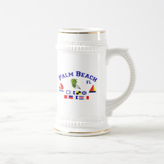 Palm Beach FLのシグナルフラグ ビールジョッキ