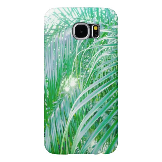 palm leaves samsung galaxy s6 ケース