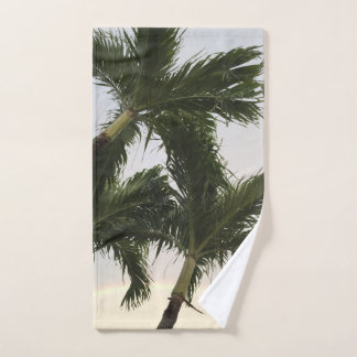 Palm Tree Paradise ハンドタオル