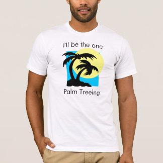palm_trees、私は1才のやしTreeingです Tシャツ