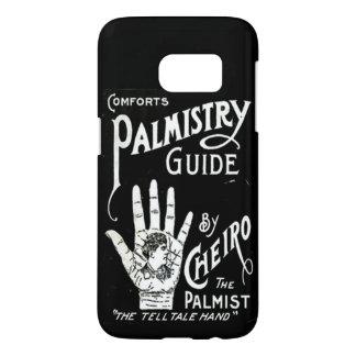 Palmistryガイドのヴィンテージのイメージ Samsung Galaxy S7 ケース
