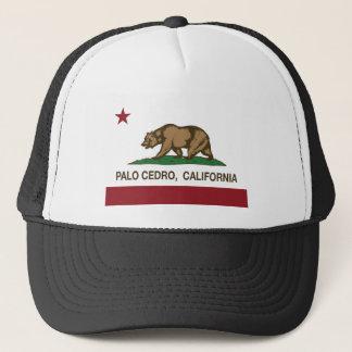 paloのcedroカリフォルニア州の旗 キャップ