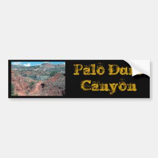 PaloのDuro渓谷の道 バンパーステッカー