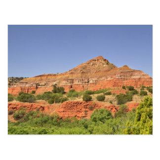 PaloのDuro渓谷、テキサス州。  連続的な石の層 ポストカード
