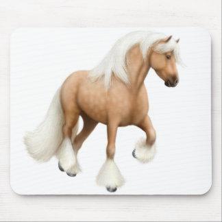 Palominoの穂軸の馬のマウスパッド マウスパッド
