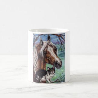PALOMINOの馬のタキシード猫のマグ コーヒーマグカップ