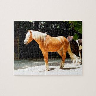 Palominoの馬 ジグソーパズル