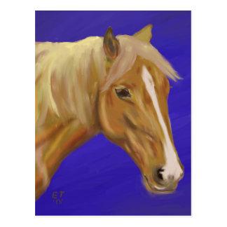 Palominoの馬 ポストカード
