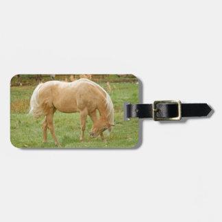 Palominoの馬 ラゲッジタグ