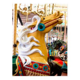PalominoのLooffの回転木馬の馬 ポストカード