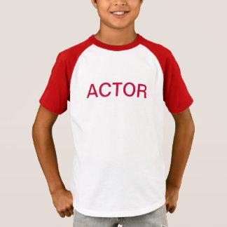 Palosの青年劇場俳優のワイシャツ Tシャツ