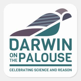 Palouseのステッカーのダーウィン- 2017年 スクエアシール