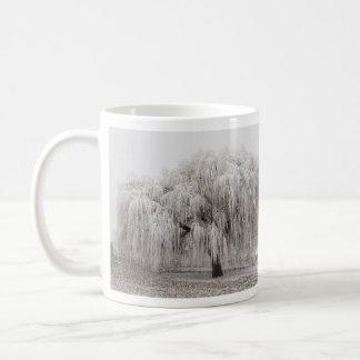 Palouseの凍結するヤナギ コーヒーマグカップ
