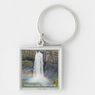 Palouseの滝、ワシントン州-そこにあります、得られたティー キーホルダー