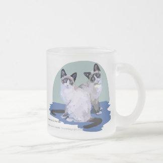 Pamのためのかんじき フロストグラスマグカップ