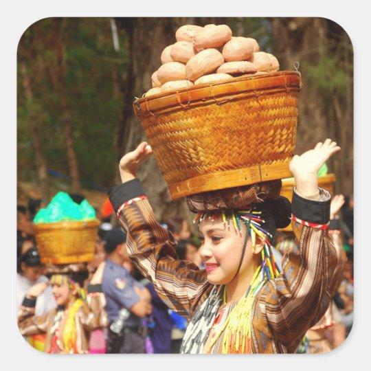 Panagbengaのフェスティバル スクエアシール