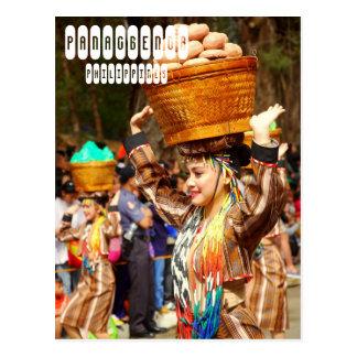 Panagbengaのフェスティバル ポストカード
