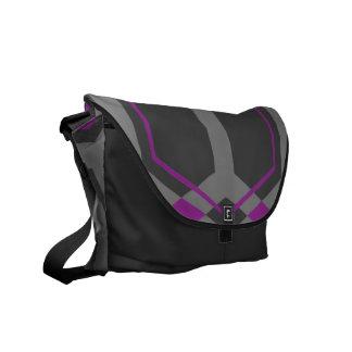 Panalの(紫色の)メッセンジャーバッグ メッセンジャーバッグ