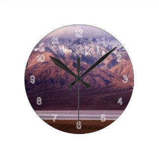 Panamint範囲および盆地 ラウンド壁時計