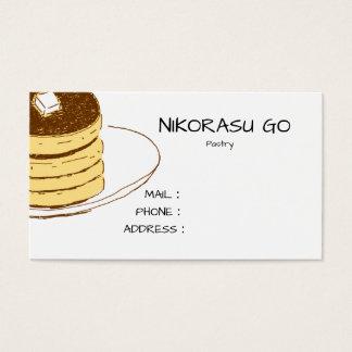 PANCAKE SHOP 名刺