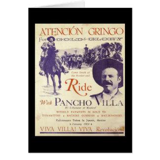 Pancho Villaメキシコ英雄大将 カード