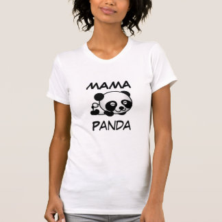 Pandaママ Tシャツ
