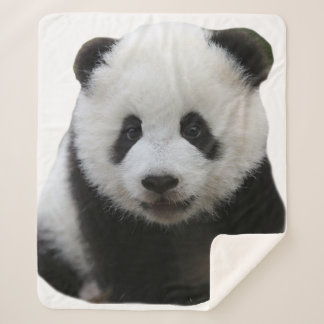 Panda Face シェルパブランケット