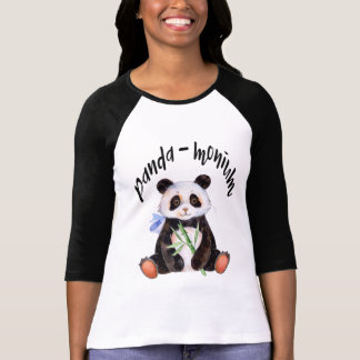 Panda - Monium Panda Bear Tシャツ