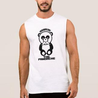 Pandacheのワイシャツ-スタイル及び色を選んで下さい 袖なしシャツ