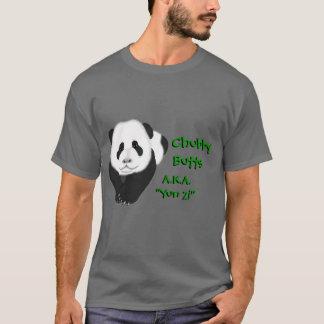 "pandacub、   ChubbyButts、   ChubbyButts、別名""… Tシャツ"