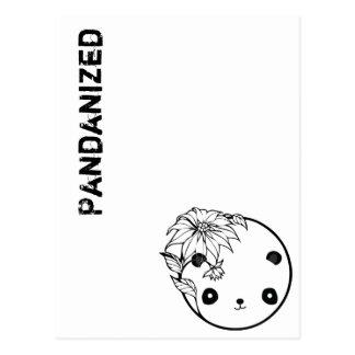 Pandanizedの郵便はがき ポストカード