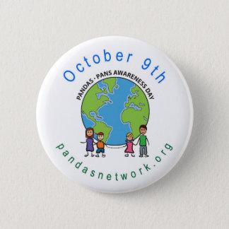 PANDAS/PANS 10月9日の認識度日Pin 缶バッジ