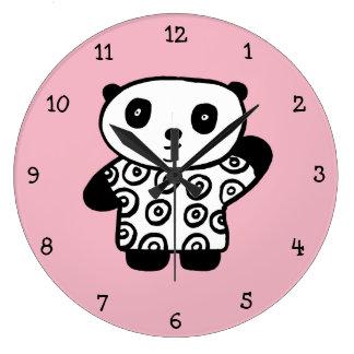 Pandyパンダ ラージ壁時計