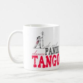 Panikのダンスのタンゴは コーヒーマグカップ