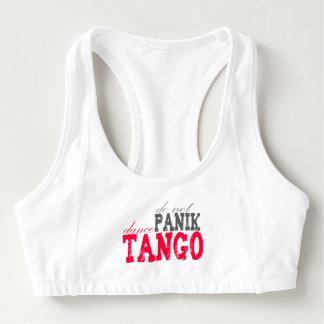 Panikのダンスのタンゴは スポーツブラ
