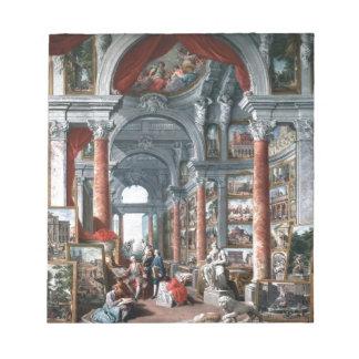 Pannini -モダンなローマの眺めのギャラリー ノートパッド