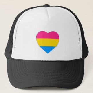 Pansexualプライドの帽子 キャップ