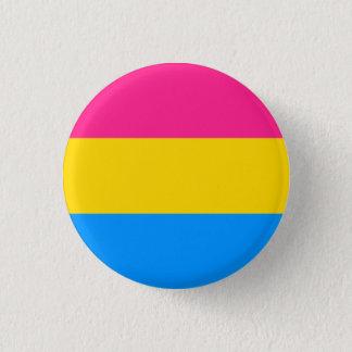 Pansexual旗ボタン 3.2cm 丸型バッジ