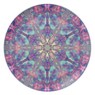 Panspermiaのプレートの二重六芒星 プレート