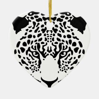 panther.png 陶器製ハート型オーナメント