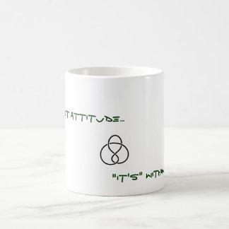panthiest態度のマグ コーヒーマグカップ