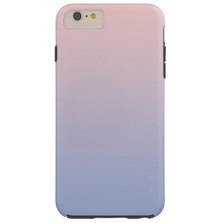 Pantone RoseQuartzか平静の勾配のiPhoneの場合 iPhone 6 Plus タフケース