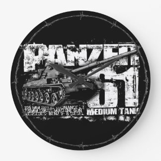Panzer 61 Wallclocks ラージ壁時計