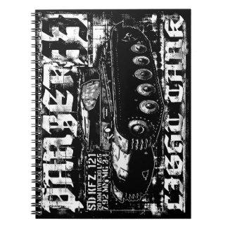 Panzer IIの写真のノート(80ページB&W) ノートブック