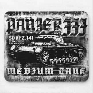 Panzer IIIのマウスパッド マウスパッド