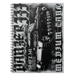 Panzer IIIの写真のノート(80ページB&W) ノートブック
