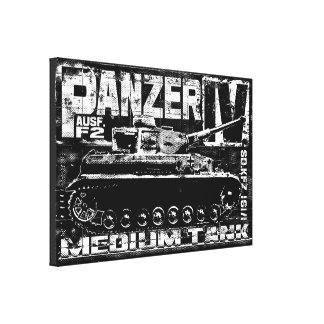 Panzer IVのキャンバスプリント キャンバスプリント