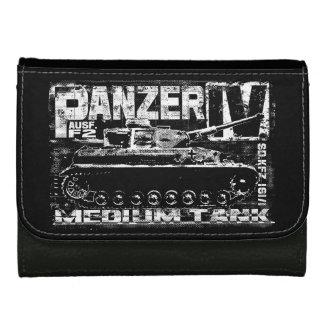 Panzer IV媒体の革財布